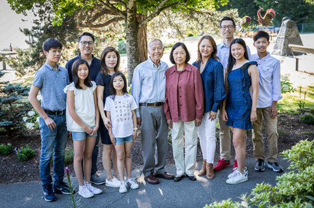 large family photography in Vancouver