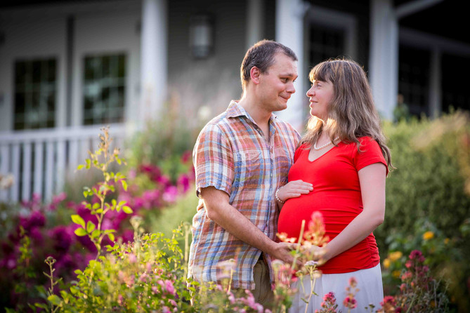 maternity photography summer