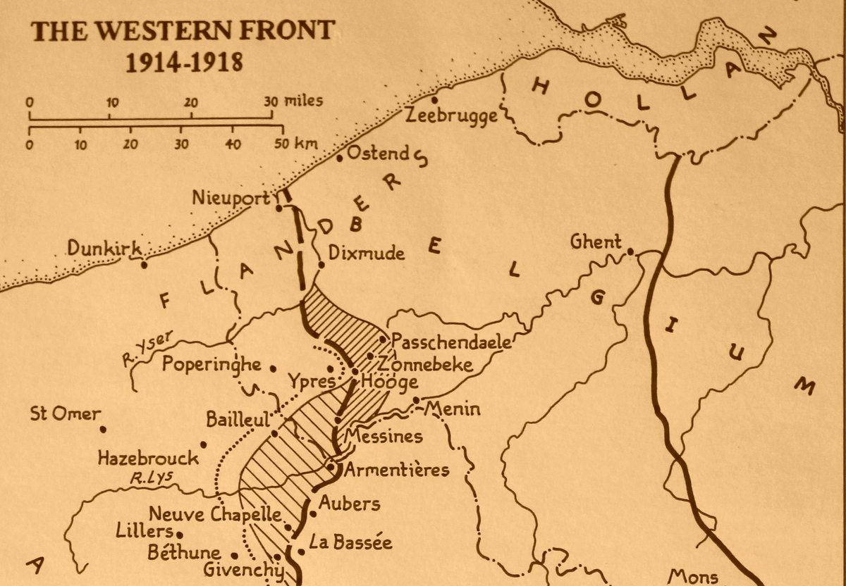 The Western Front, 1914-18