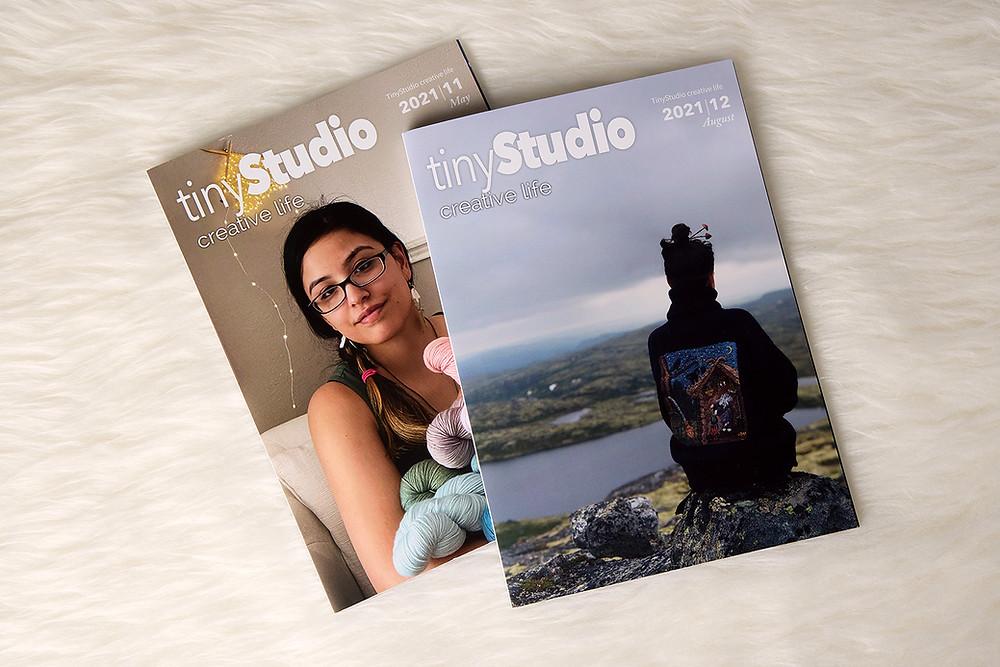 Print copies of tinyStudio Issue 11 & 12