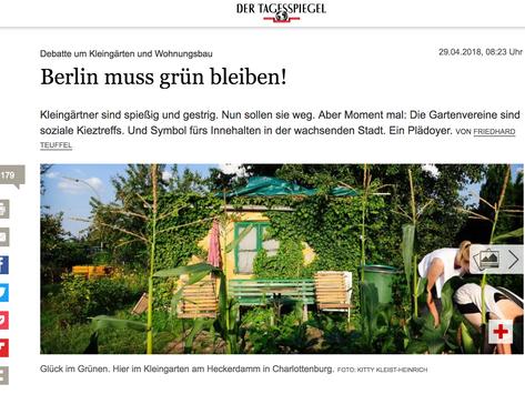 Berlin muss grün bleiben