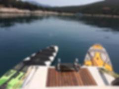 sailing Trikeri island