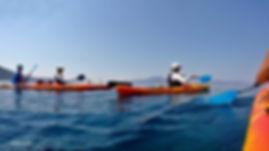 True Adventure sea kayak Pelion