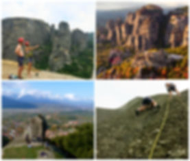 walking and Climbing Meteora