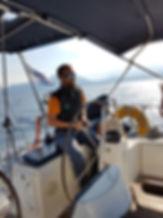 sailing Pagasitic Gulf