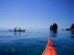 sea kayak Cyclades