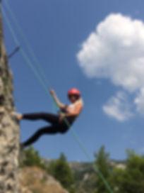 Climbing Pelion