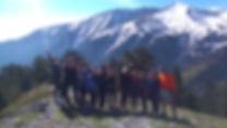 trekking mount Olympus
