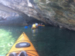 sea kayaking Pelion