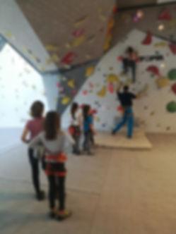 True Adventure climbing camp Walltopia S