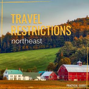 TRAVEL RESTRICTIONS: NORTHEAST USA