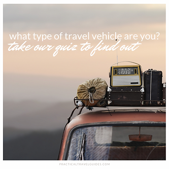 What Type of Travel Vehicle Are You?