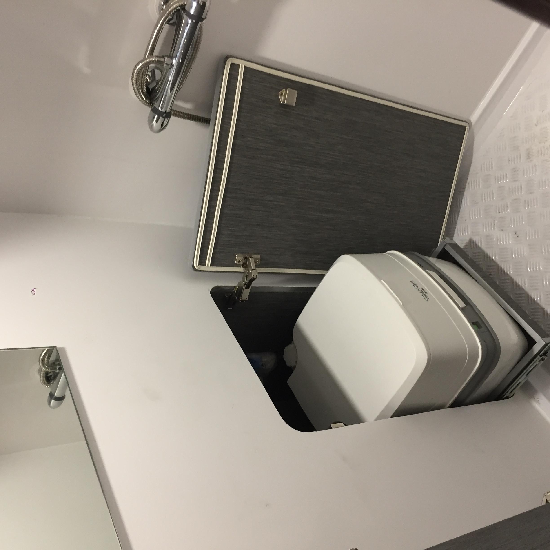baño camper
