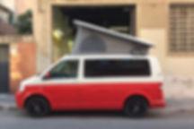 exterior campeización furgonetas