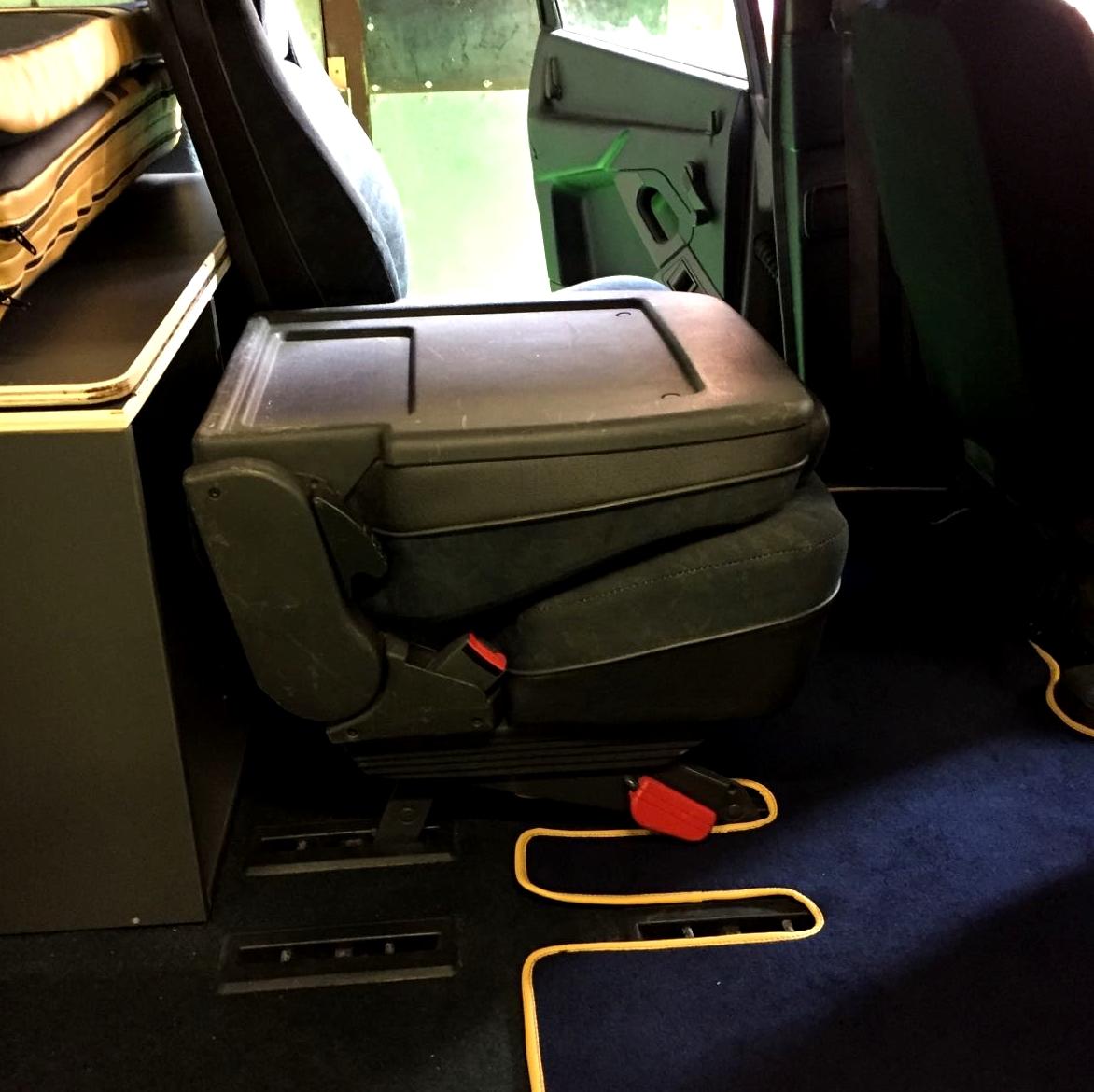 asiento plegable furgoneta