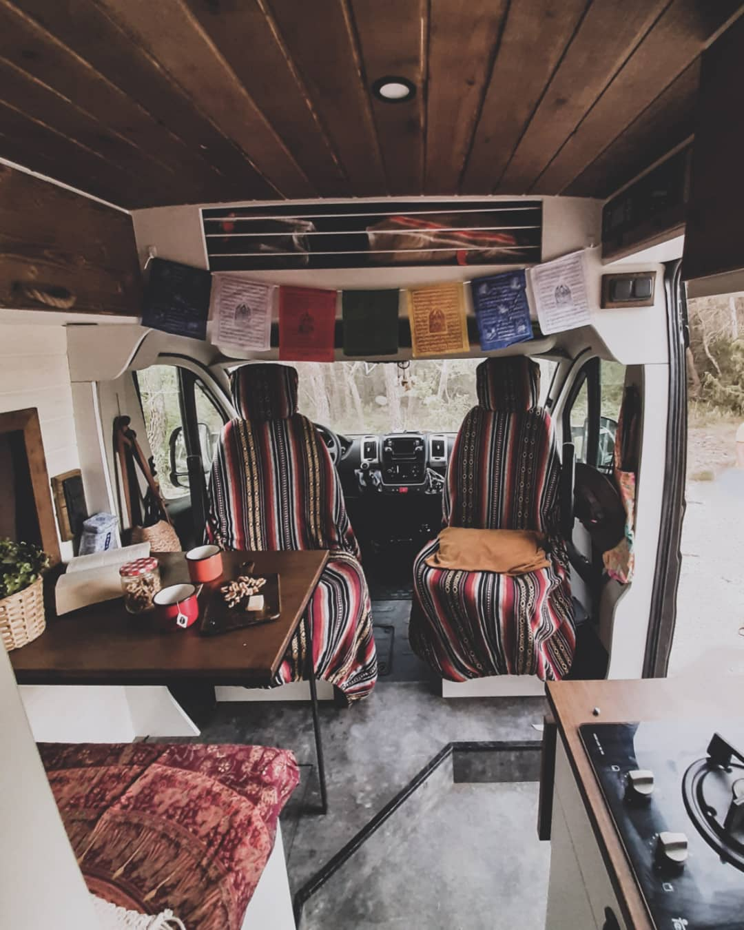 bohemian furgo campervan