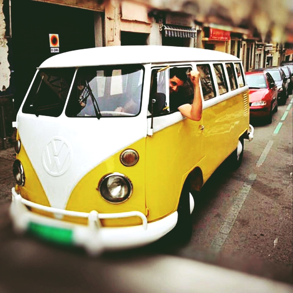Vintage furgoneta