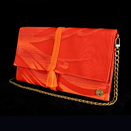 Orange Art Clutch C
