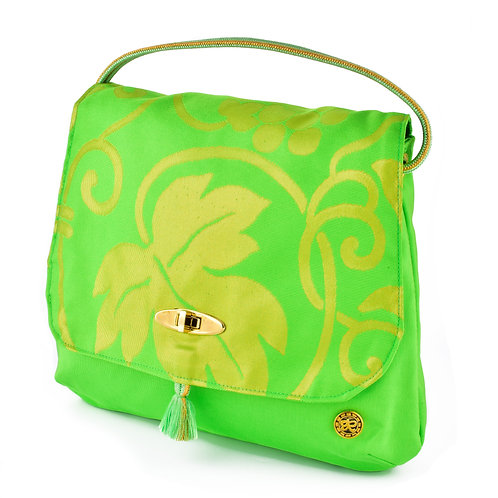 Green Leaf Shoulder Bag (Large)