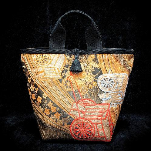 Scenic Gold Handbag