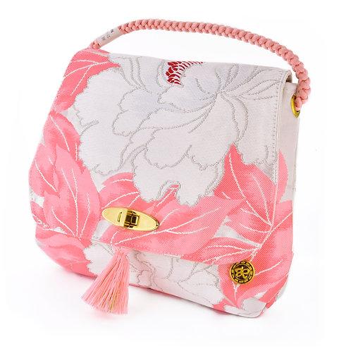 Pink Flower Shoulder Bag (Small)