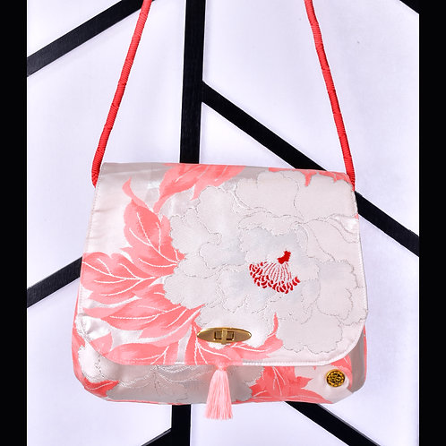 copy of Pink Flower Shoulder Bag (Large)
