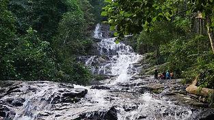 7 Tier Kanching Waterfalls