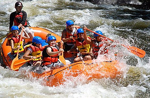 White Water Rafting in Kitugala