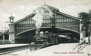Kuala Lumpur Railway Station 1910