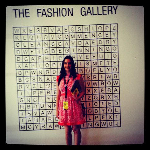 Attending Fashion Forward in Dubai...
