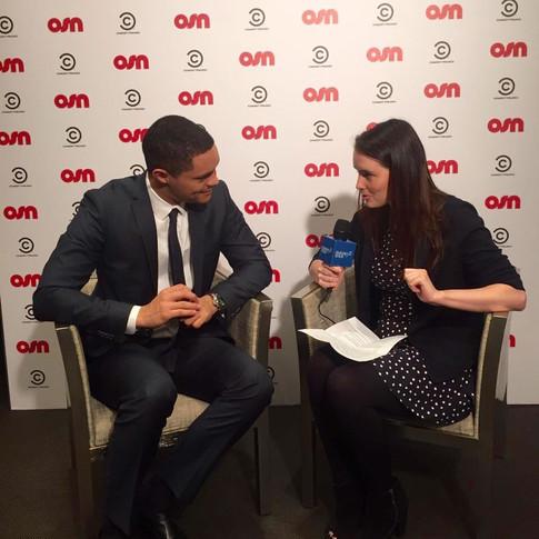 Interviewing Trevor Noah...