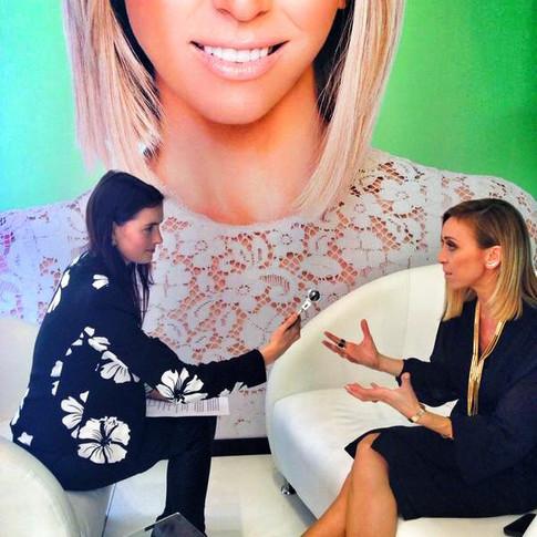 Interview with Giuliana Rancic...