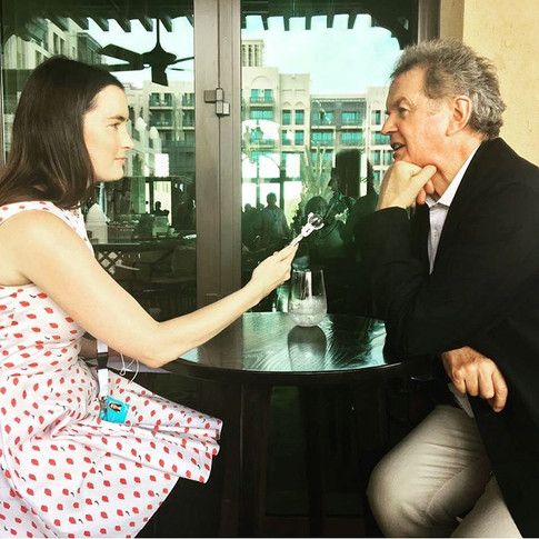 Interviewing John Madden at the Dubai Film Festival
