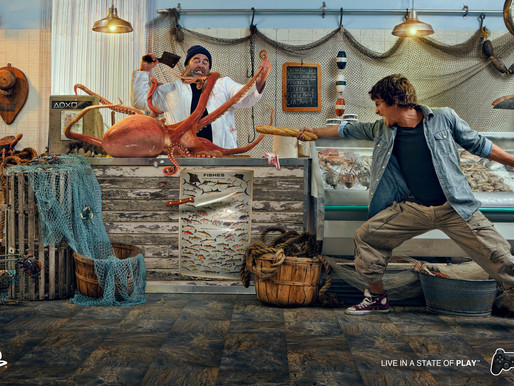 PLAYSTATION AND MEDIA8 SELECTED MAURICIO CANDELA TO SHOOT THEIR LATEST CAMPAIGN.