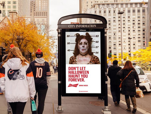 Creative Budweiser campaign shot by candela.