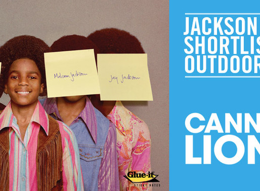 JACKSON 5 AD SHORTLISTED IN CANNES 2014