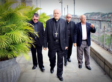 Visita do Cardeal Arcebispo de Budapeste