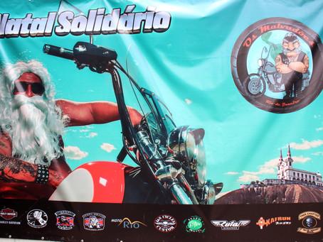 Natal Solidário com o grupo da Harley-Davidson