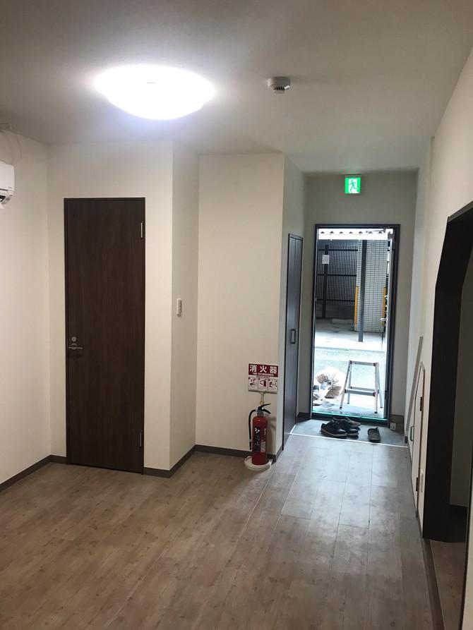 新大阪民泊工事