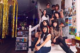 Les Ye Ye Girls stairs CL A.jpg