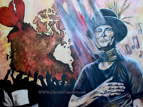 "Gord Downie Tribute -11x14"" prints"