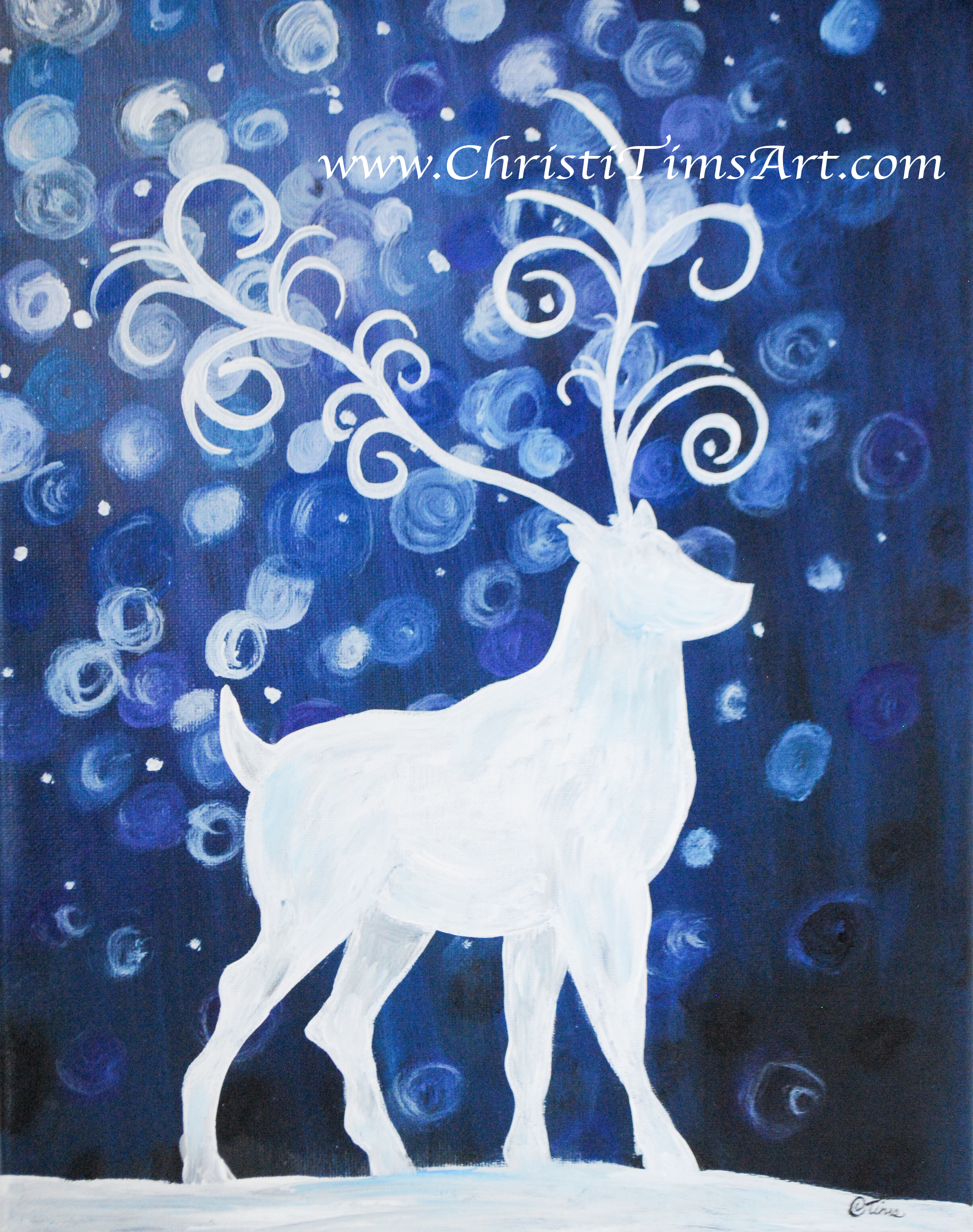 Reindeer by Christi Tims