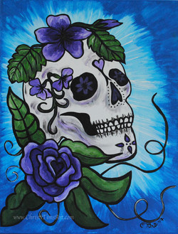 Sugar Skull by Christi Tims