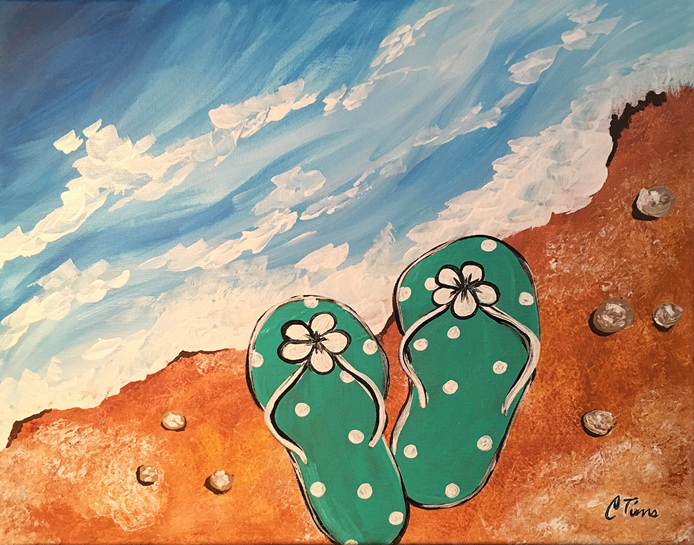 Flip Flop by Christi Tims