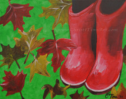 These Boots Christi Tims Art