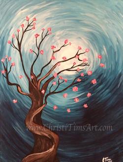 Cherry Blossom Tree Christi Tims Art
