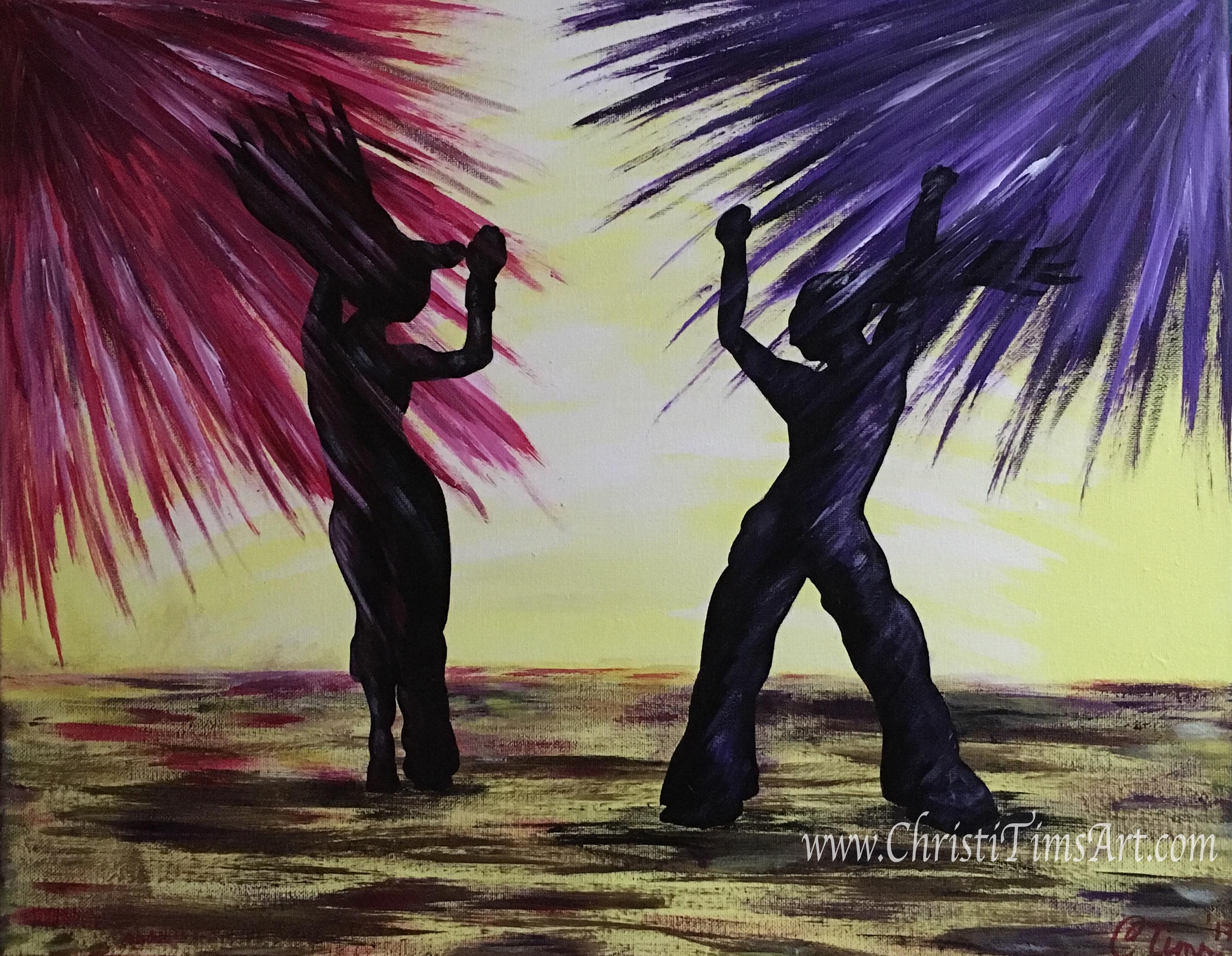 Zumba Paint Night Christi Tims Art