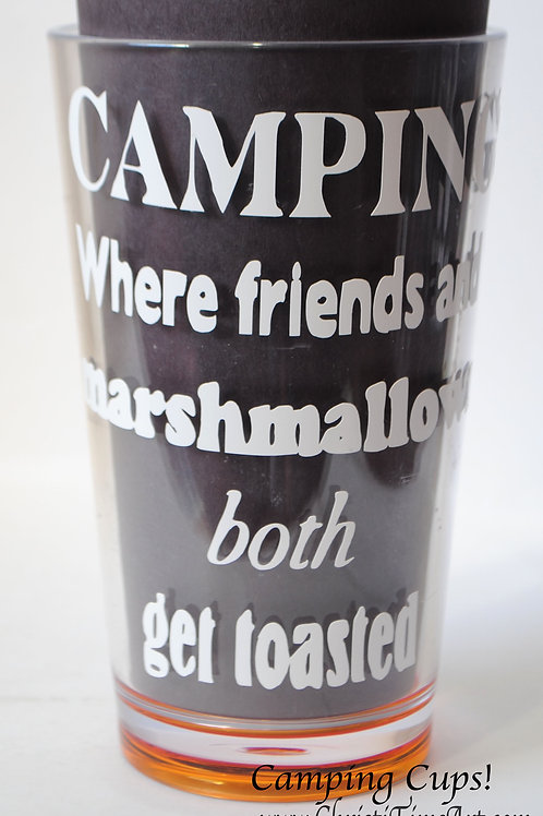 Camping plastic cup