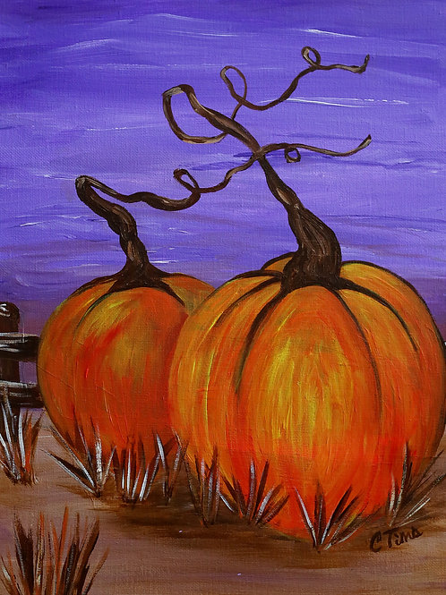 Paint Party -Pumpkins!
