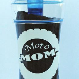 Moto Mom vinyl decal